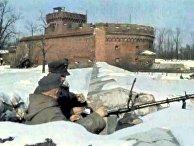 Солдаты Вермахта с пулеметом MG 34