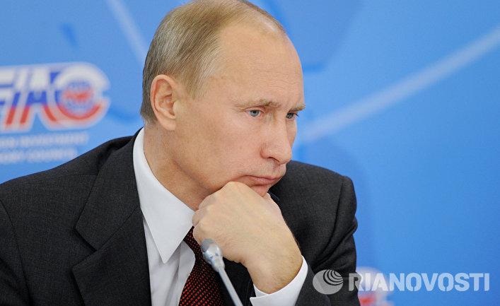 Владимир Путин на пленарном заседании Консультативного совета