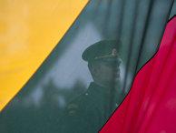 На праздновании дня независимости Литвы в Вильнюсе