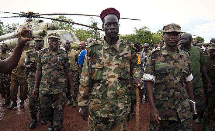 Цезарь Аселлам, высокопоставленный руководитель угандийской националистической повстанческой группировки «Господня армия сопротивления»