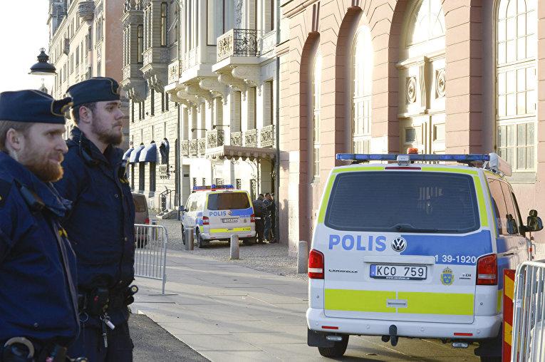 Полиция в Стокгольме
