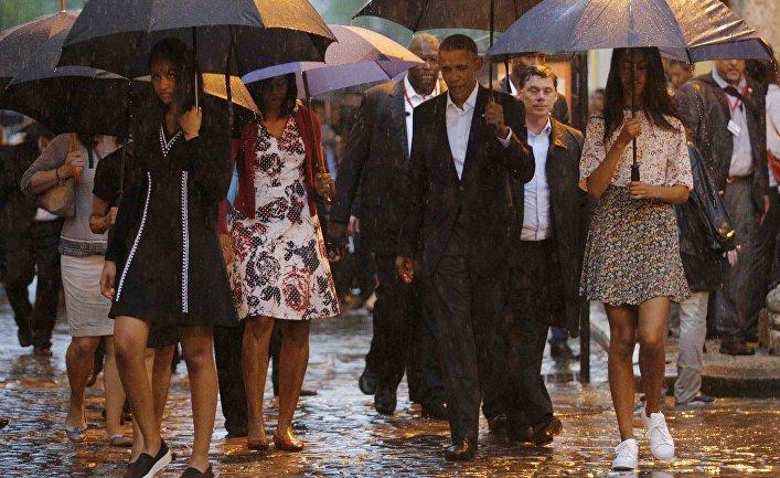 Барак Обама взял наКубу тёщу