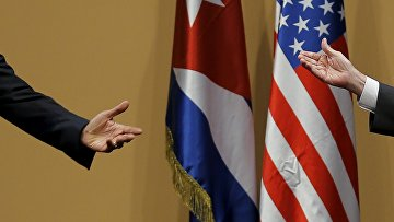 Обама на Кубе