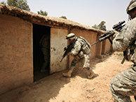 Американские солдаты в Ираке, 2007 год