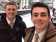 19-летний Мэйсон Уэллс (слева) и 20-летний Джозеф Эмпей