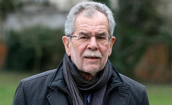 Претендент на пост федерального президента Австрии Александр Ван дер Беллен