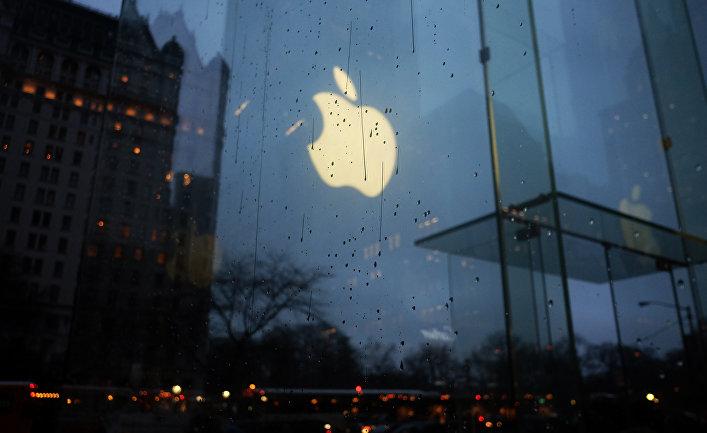 Магазин Apple на Пятой авеню в Нью-Йорке