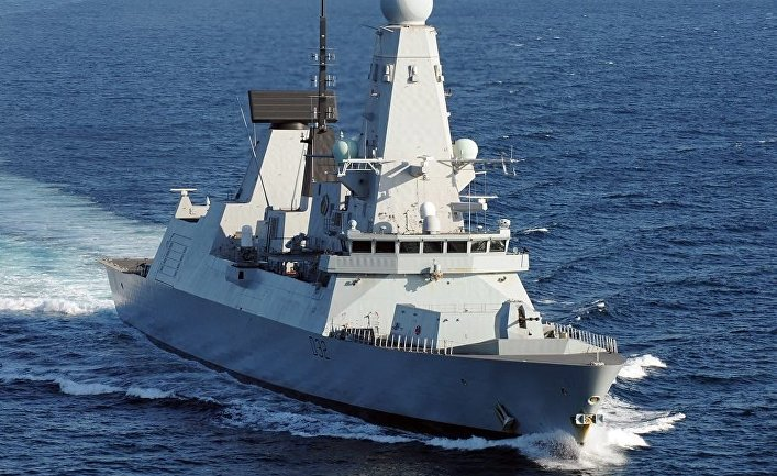 Британский эсминец 45 типа