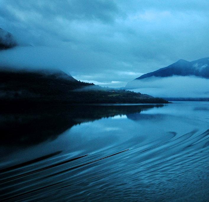 Фьорд в Норвегии