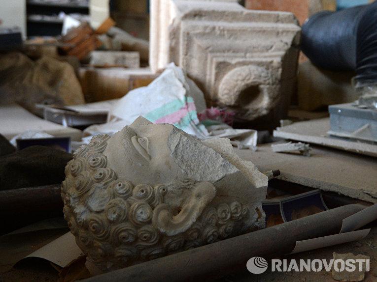 Национальный музей в освобожденной Пальмире