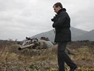 Д.Медведев побывал с рабочей поездкой на Южных Курилах