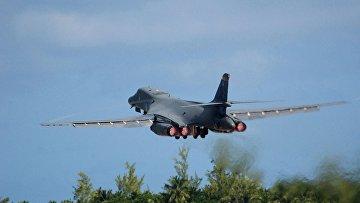 Американский бомбардировщик B-1