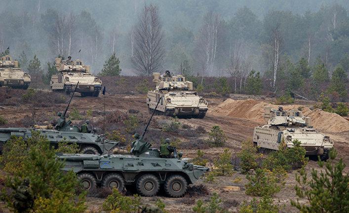 Учения войск НАТО «Железный меч-2014» на территории Литвы