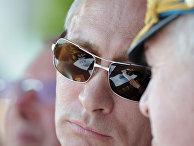 Посещение Владимиром Путиным авиасалона в Жуковском