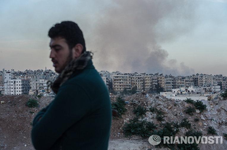 Ситуация в сирийском городе Алеппо