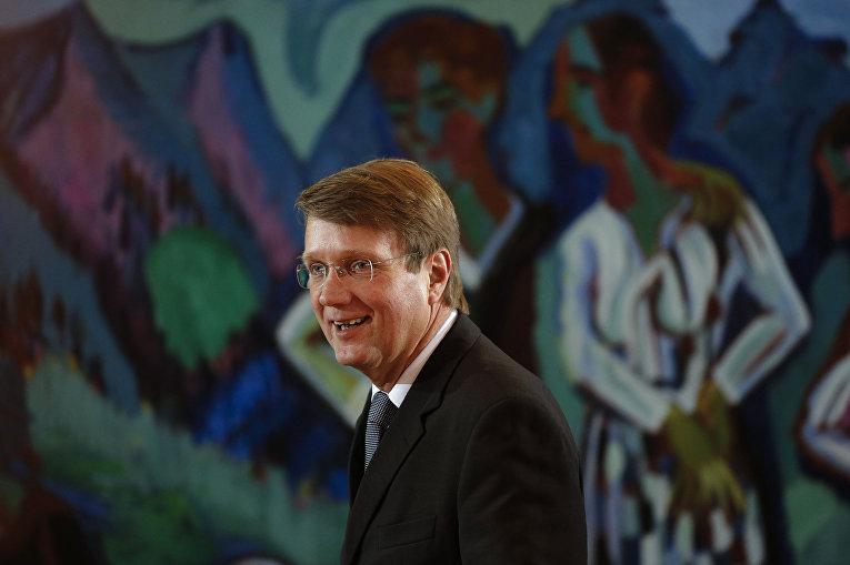 Менеджер концерна Deutsche Bahn и бывший руководитель Ведомства федерального канцлера Рональд Пофалла