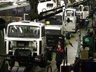Работа Минского автомобильного завода (МАЗ)