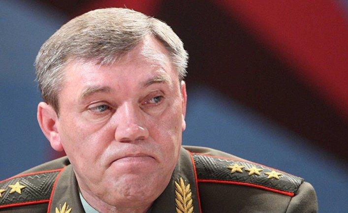Руководитель Генштаба сказал уполномоченному НАТО оначале учений «Запад-2017»