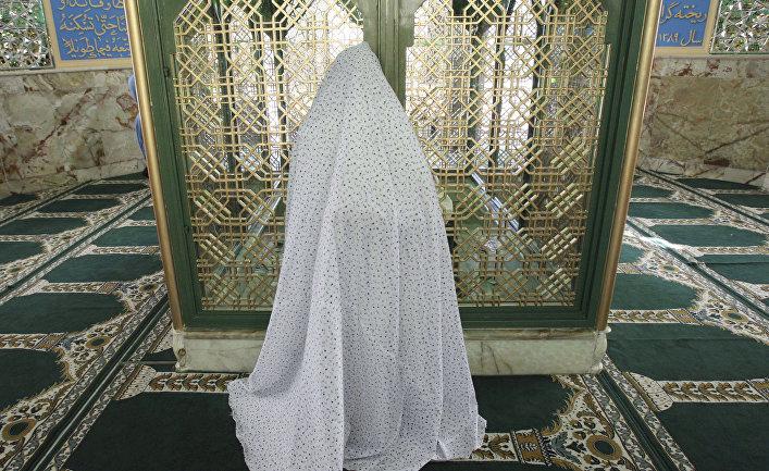 Усыпальница Ахмеда в деревне Хафр-э-Натанз в Иране
