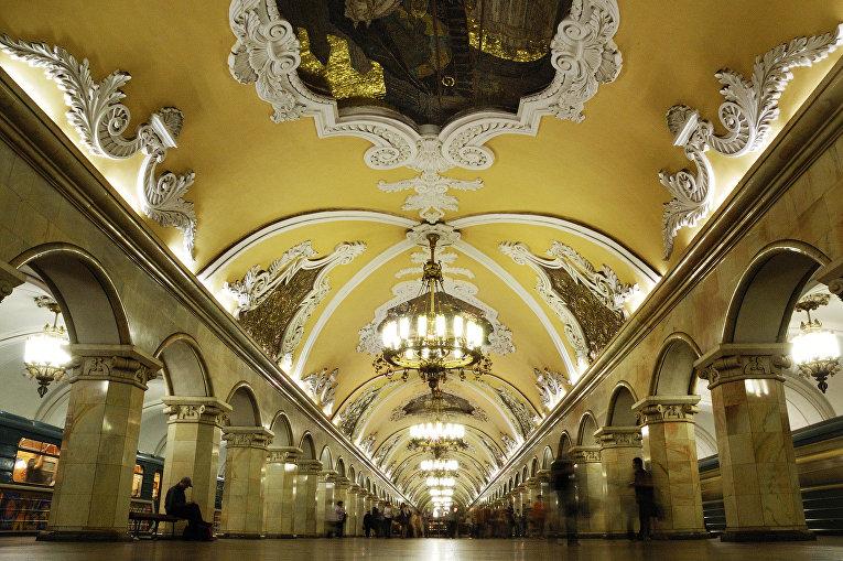 Станция московского метрополитена «Комсомольская»