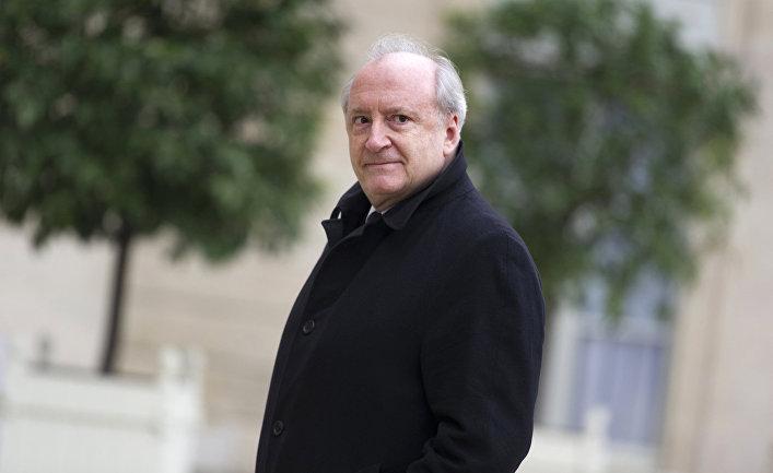 Бывший французский министр иностранных дел Юбер Ведрин