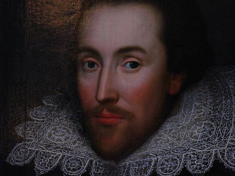 Единственный известный на сегодняшний день прижизненный портрет Шекспира