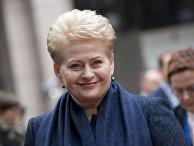 Президент Литвы Даля Грибаускайте