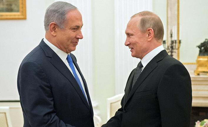 Встреча президента РФ Владимира Путина с премьер-министром Израиля Беньямином Нетаньяху