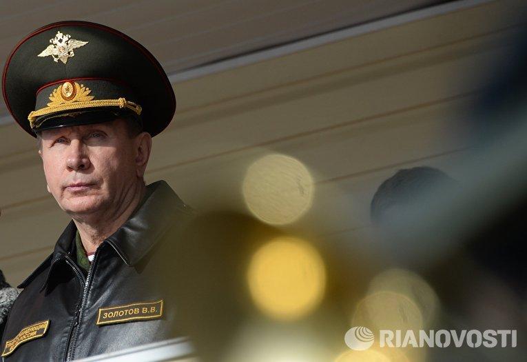 Главнокомандующий внутренними войсками МВД России Виктор Золотов