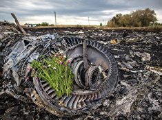 Сбор тел погибших на месте крушения малайзийского лайнера Boeing 777 в районе Шахтерска