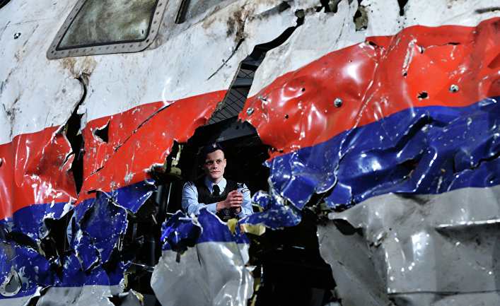 Представление доклада об обстоятельствах крушения лайнера Boeing 777 Malaysia Airlines