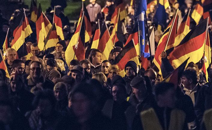 """Митинг членов партии """"Альтернатива для Германии"""""""