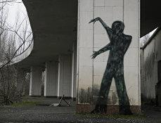 Заброшенный город Припять недалеко от Чернобыльской АЭС на Украине
