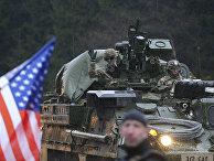 Жители чешского города Гаррахов встречают американский конвой Dragoon Ride