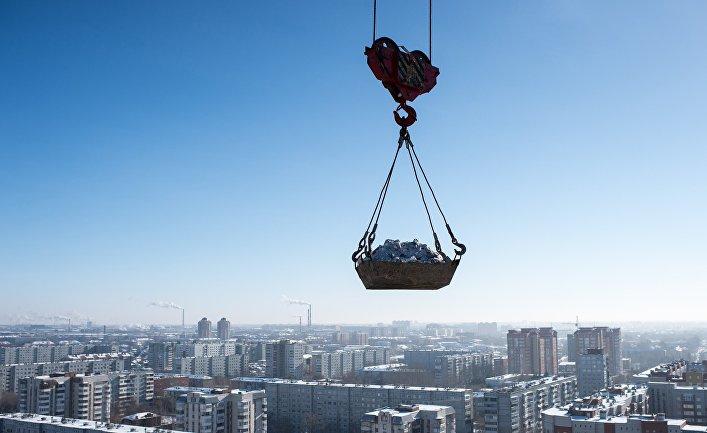 Российский сектор жилищного строительства резко замедляется