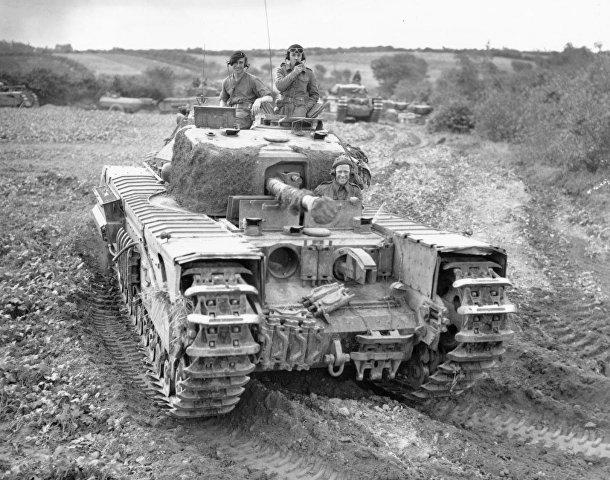 Пехотный танк Mk IV «Черчилль» (A22) периода Второй мировой войны