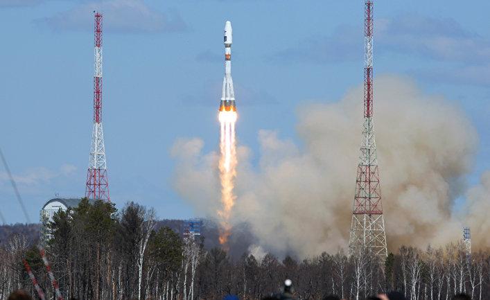 Первый пуск ракеты-носителя с космодрома «Восточный»