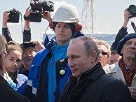 """Президент РФ В. Путин на космодроме """"Восточный"""""""