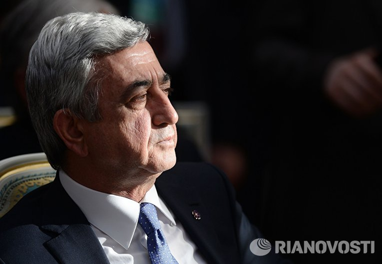 Президент Республики Армения Серж Саргсян