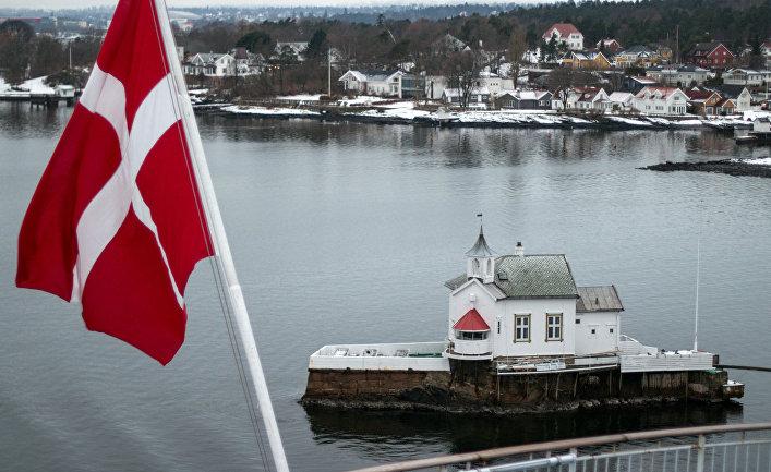 Осло-фьорд в Норвегии