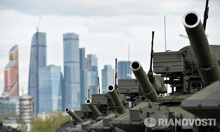 Подготовка к Параду Победы в Москве
