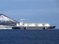 Первый завод по производству сжиженного газа (СПГ) на Сахалине