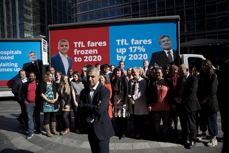 Садик Хан: новый мэр Лондона — кто он?