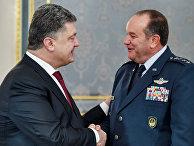 Встреча П.Порошенко и Ф.Бридлава в Киеве