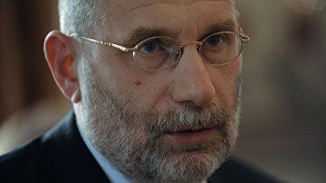 Писатель и переводчик Борис Акунин (Григорий Чхартишвили)