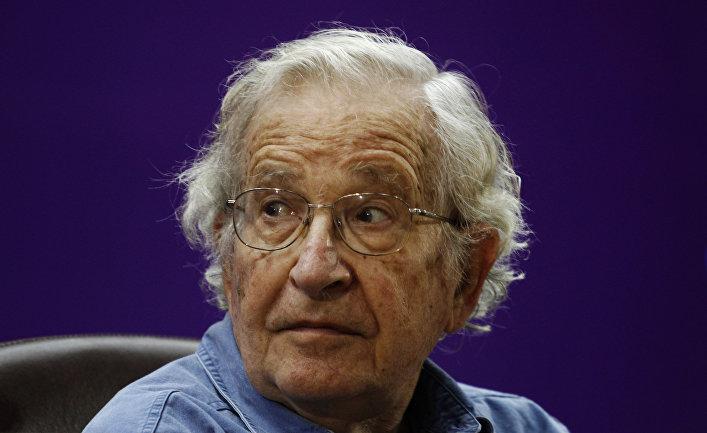 Американский ученый Ноам Хомский