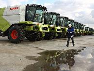 Производство зерноуборочных комбайнов на заводе CLAAS в Краснодаре