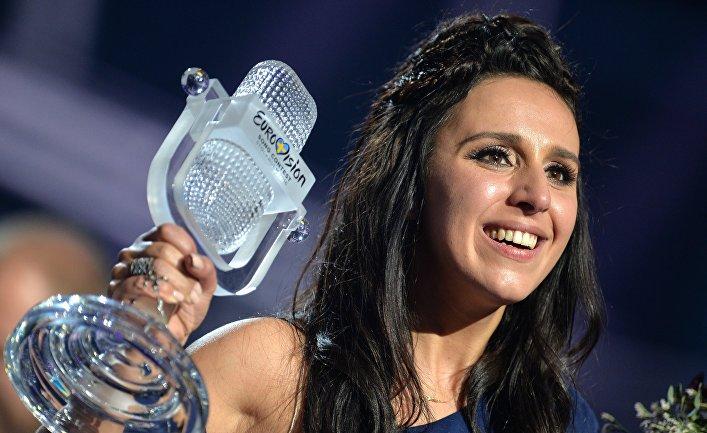 Джамала (Украина), победившая в финале международного конкурса «Евровидение-2016»