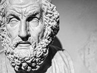 Скульптура легендарного древнегреческого поэта Гомера