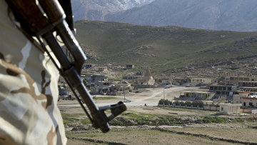 Граница Сирии и северного Ирака